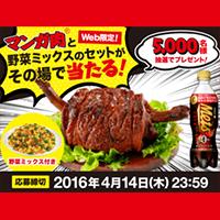 キリン メッツコーラ マンガ肉キャンペーン