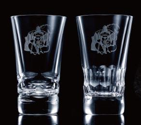 バカラオリジナルペアグラス