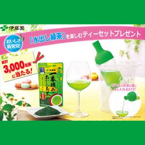 伊藤園 水出し緑茶キャンペーン