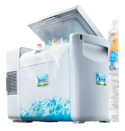 冷凍兼用ボトル専用 サントリー天然水 氷らせボトルフリーザー