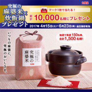 丸美屋 麻婆豆腐2017春の懸賞キャンペーン