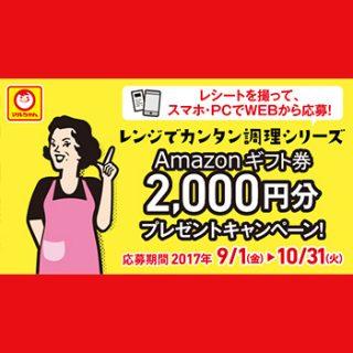 マルちゃん レンジシリーズ 2017懸賞キャンペーン