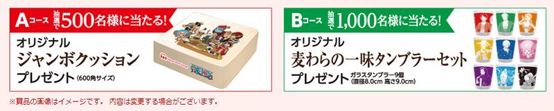 ニッポンハム ワンピース 懸賞キャンペーン2017冬 プレゼント懸賞品