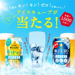極ZEROゼロ オープン懸賞キャンペーン2018春