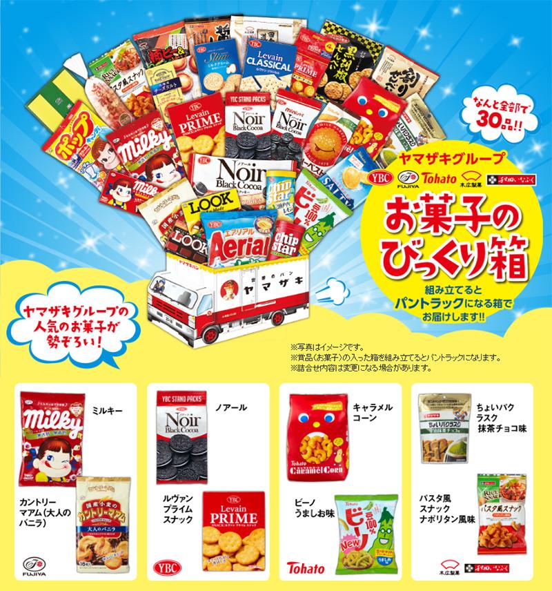 ヤマザキパン 懸賞キャンペーン2018夏 プレゼント懸賞品