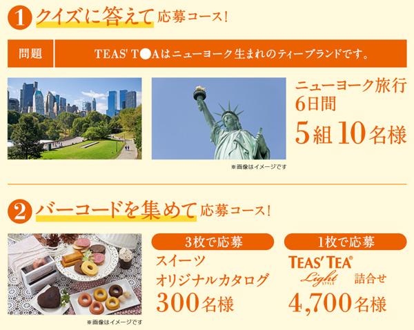 ニューヨーク旅行、スイーツカタログ