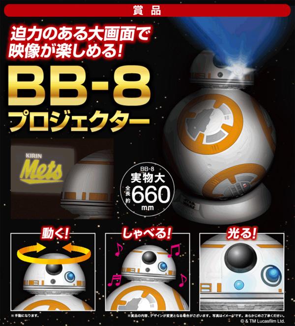 新ドロイド「BB-8」型プロジェクター