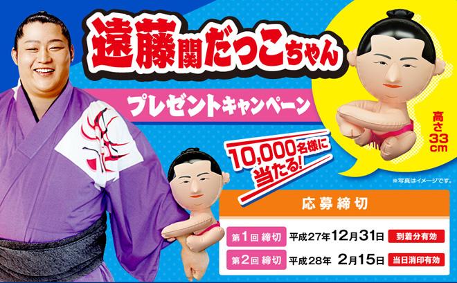 永谷園 遠藤関 だっこちゃん キャンペーン