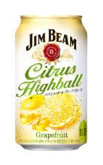 JIM BEAM ジムビーム シトラスハイボール缶 グレープフルーツ