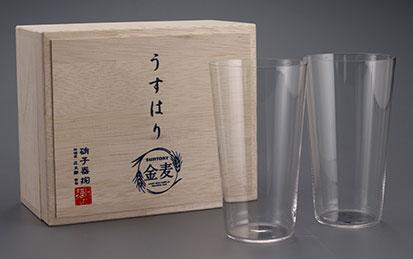 松徳硝子「うすはりグラス」