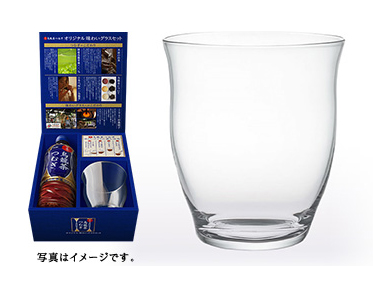 日本の烏龍茶 つむぎ 味わいグラスセット