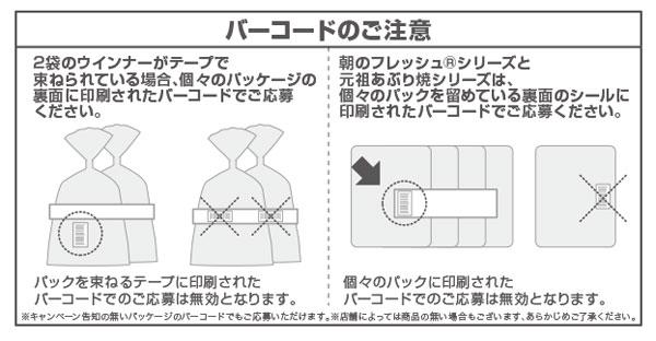 伊藤ハム USJキャンペーン応募方法