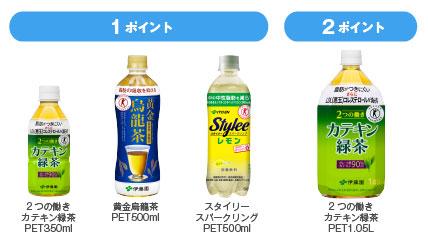 特保飲料キャンペーン対象商品