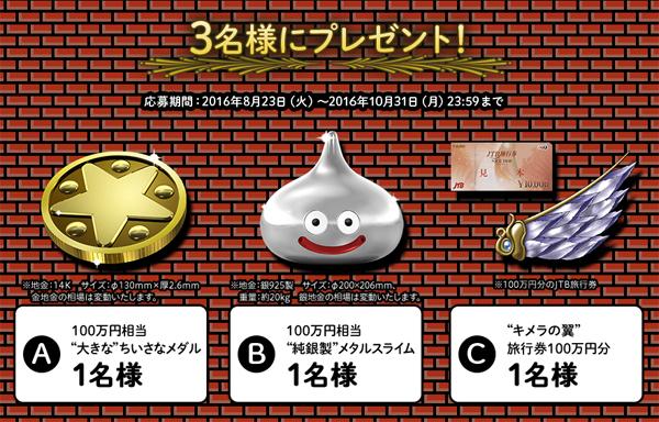 フィッツ ドラクエキャンペーン クイズ賞品