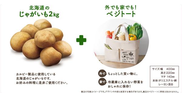 カルビー2016年大収穫祭キャンペーン賞品