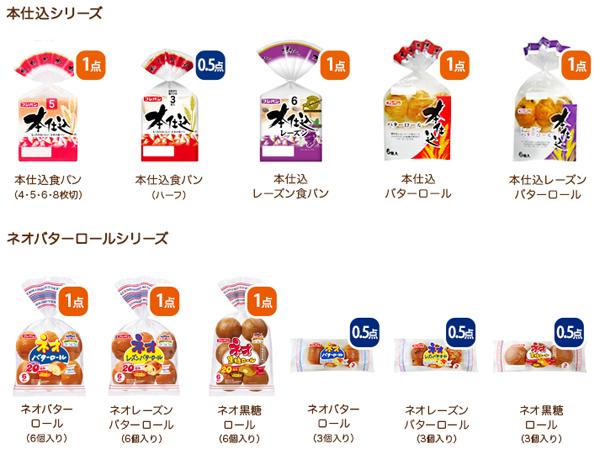 フジパン 2016年秋 ミッフィータテヨコトートキャンペーン対象商品