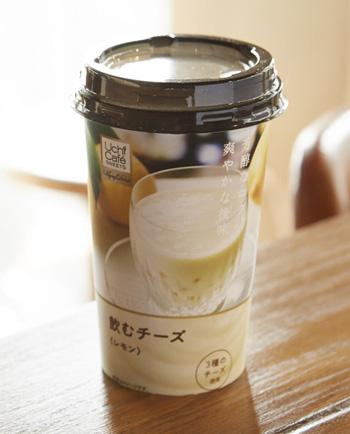 ローソン ウチカフェ 飲むチーズレモン