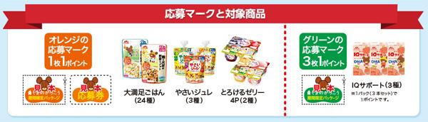 森永乳業 くまのがっこうキャンペーン対象商品