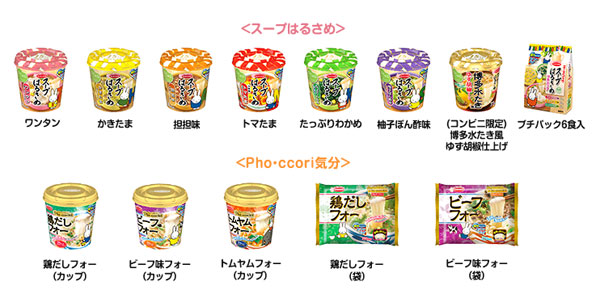 エースコック スープはるさめ 2016年ミッフィーキャンペーン対象商品