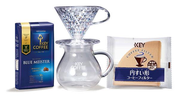 キーコーヒー ドリップ体験セット