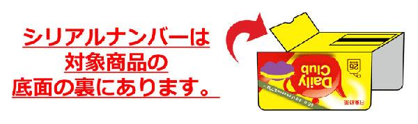 日東紅茶 SOU・SOUエプロンキャンペーン シリアルナンバー
