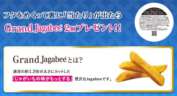 ジャガビー Grand Jagabee キャンペーンプレゼント賞品