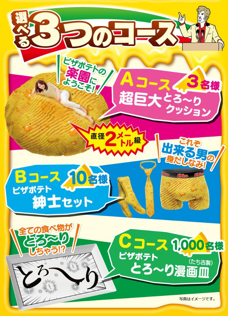 カルビー ピザポテト 2017 クイズ懸賞キャンペーン懸賞品