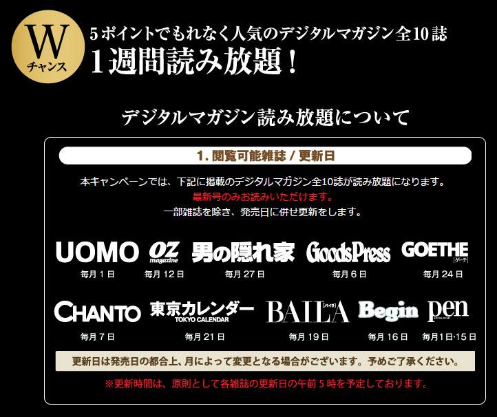 タリーズコーヒー 2017年春夏懸賞キャンペーンWチャンス デジタルマガジン