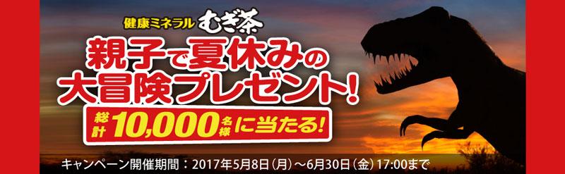 健康ミネラルむぎ茶 2017年夏休み懸賞キャンペーン
