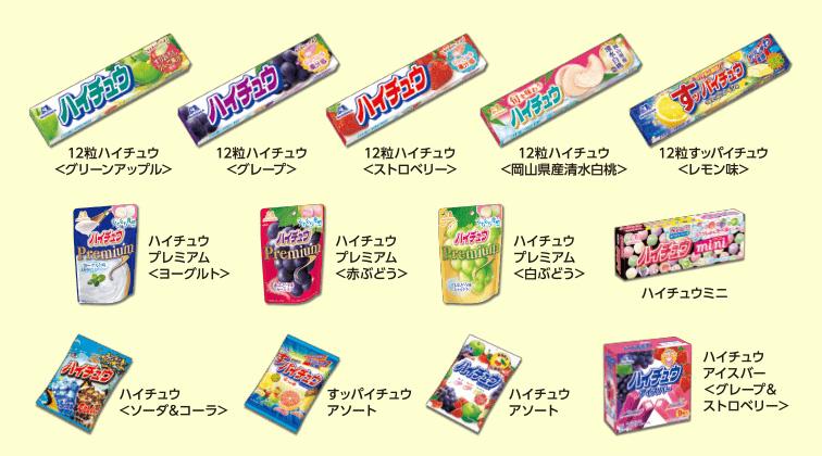 ハイチュウ 2017夏 関ジャニ∞ 懸賞キャンペーン対象商品