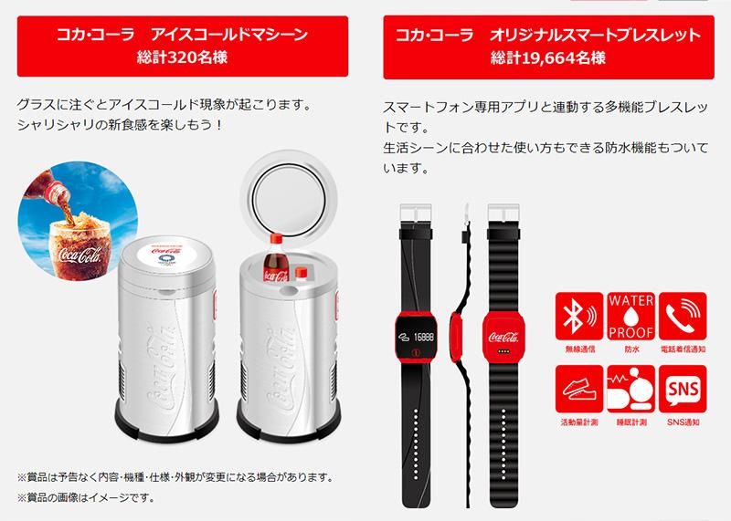 コカ・コーラ 東京オリンピック懸賞キャンペーン2017 プレゼント懸賞品
