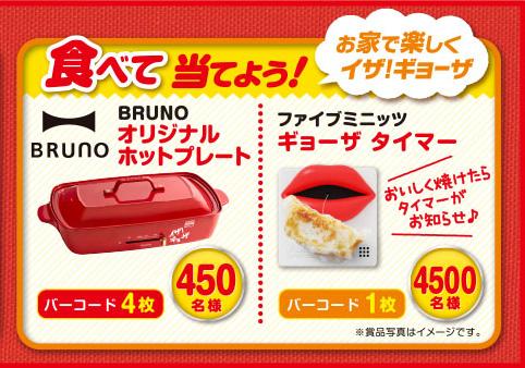 味の素 冷凍餃子 ギョーザ 45周年記念キャンペーン 商品購入キャンペーン プレゼント懸賞品