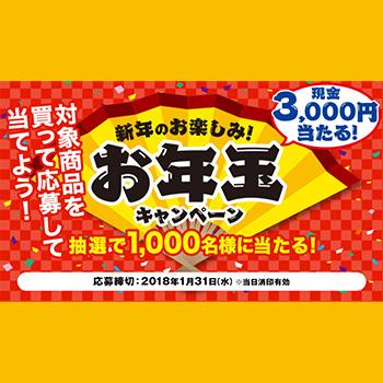 伊藤ハム お年玉プレゼント懸賞キャンペーン2018