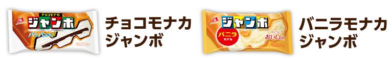 チョコモナカジャンボ 関ジャニ 2018春懸賞キャンペーン 対象商品