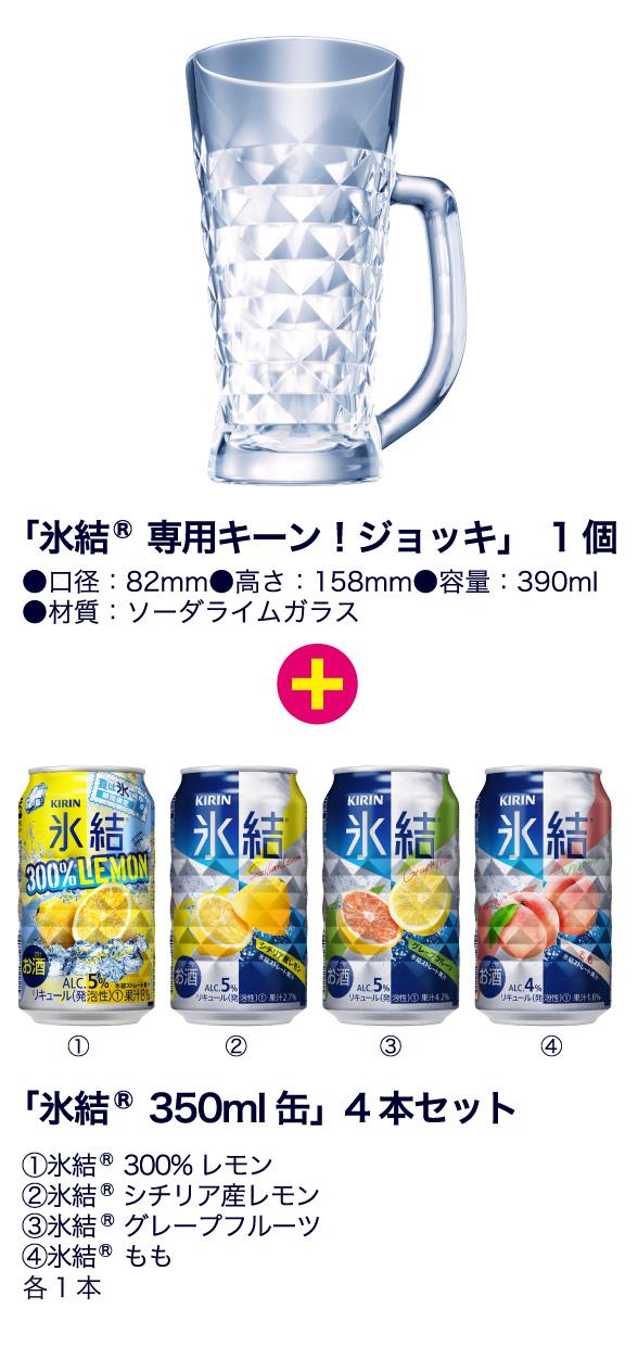 キリン氷結 懸賞キャンペーン2018夏 プレゼント懸賞品