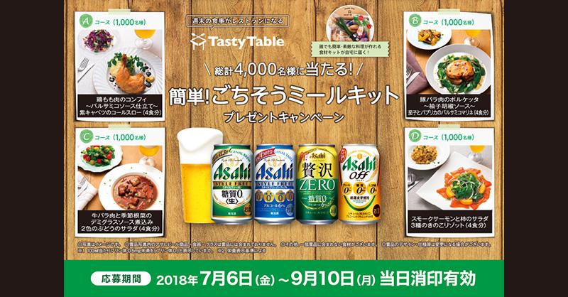 クリアアサヒ スタイルフリー 懸賞キャンペーン2018