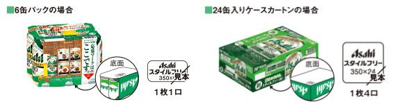 クリアアサヒ スタイルフリー 懸賞キャンペーン2018 応募方法