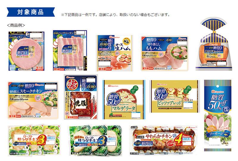 ニッポンハム ワンピース懸賞キャンペーン2018夏 対象商品
