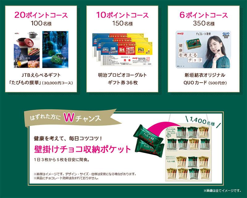 チョコレート効果 懸賞キャンペーン2018~2019 プレゼント懸賞品