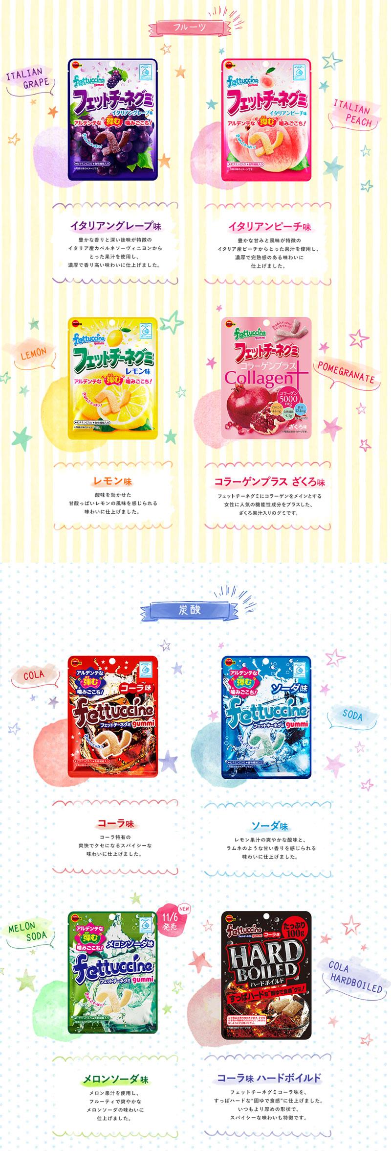 フェットチーネグミ 乃木坂46 乃木恋キャンペーン 対象商品