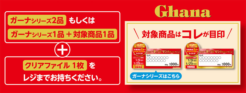 ファミマ ガーナ 羽生結弦キャンペーン2019 対象商品