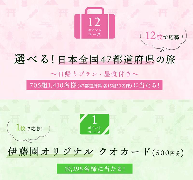 お~いお茶 懸賞キャンペーン2019春 プレゼント懸賞品
