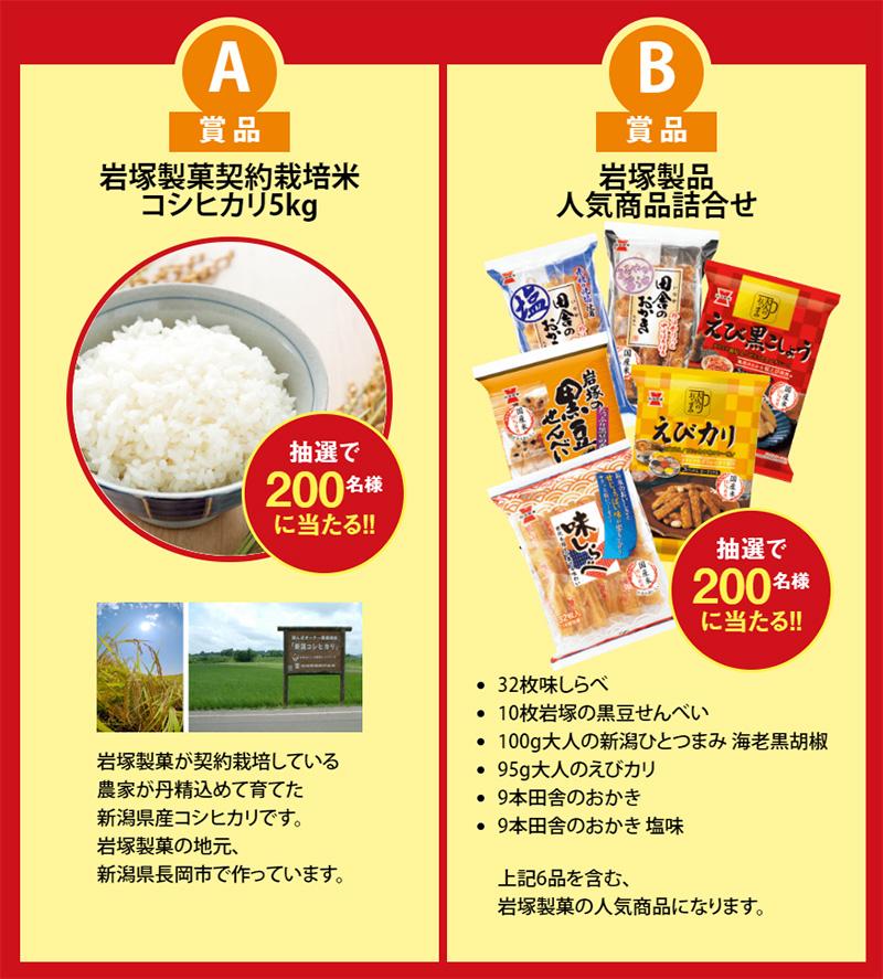 味しらべ 40周年記念キャンペーン2019春 プレゼント懸賞品