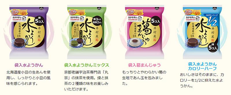 井村屋 水ようかん懸賞キャンペーン2019春 対象商品