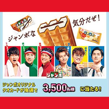 チョコモナカジャンボ 懸賞キャンペーン2019春