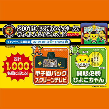 日清 阪神タイガース懸賞キャンペーン2019春