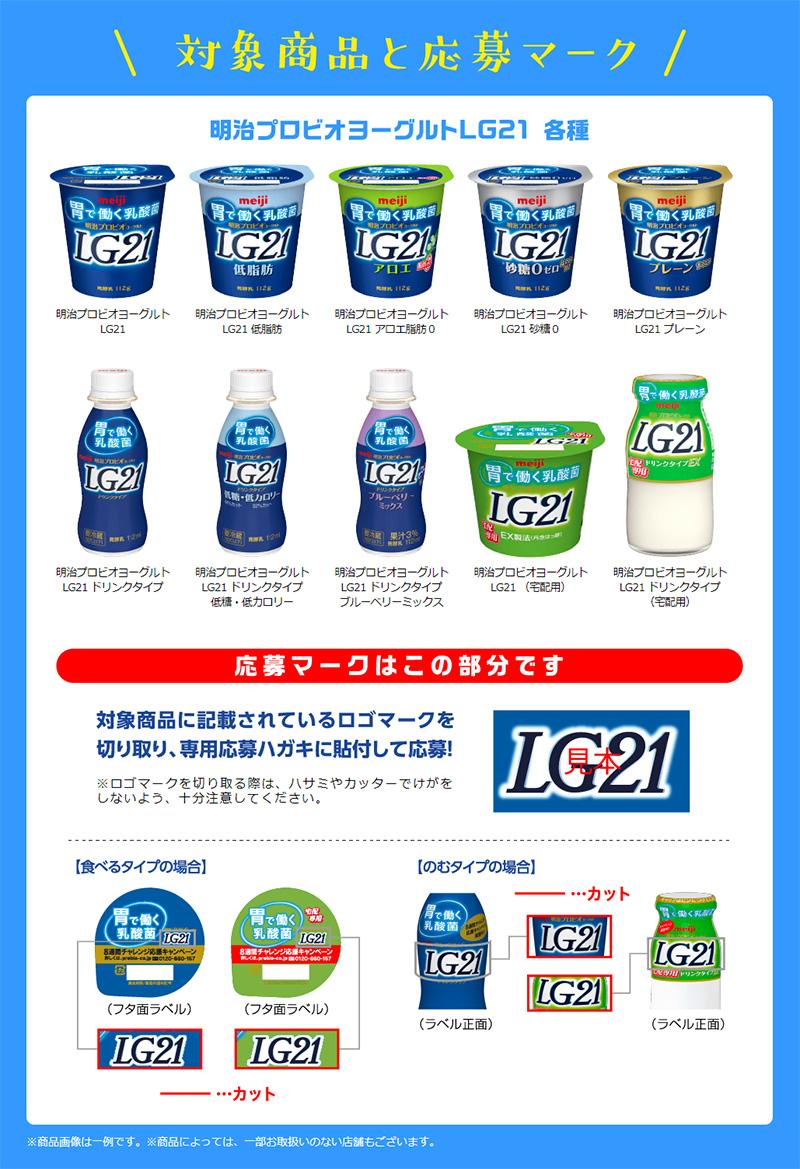 LG21 懸賞キャンペーン2019夏 対象商品