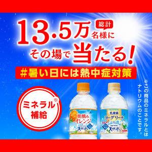 サントリー天然水 無料懸賞キャンペーン2019夏