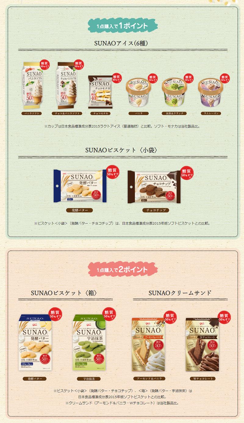 スナオ SUNAO ムーミン懸賞キャンペーン2019夏 対象商品