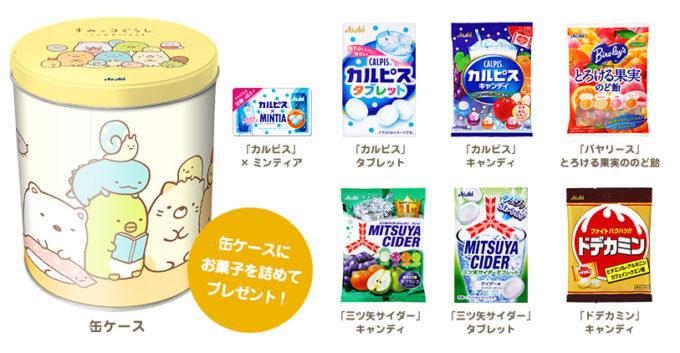 アサヒ飲料 すみっコぐらし懸賞キャンペーン2019秋 プレゼント懸賞品